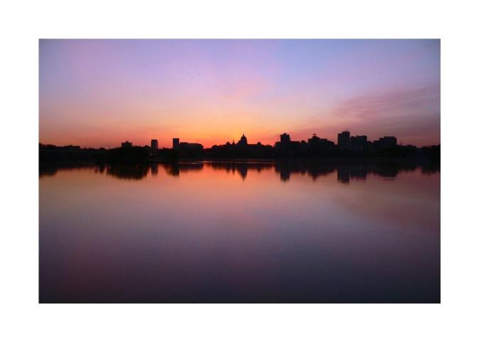 Harrisburg at Dawn