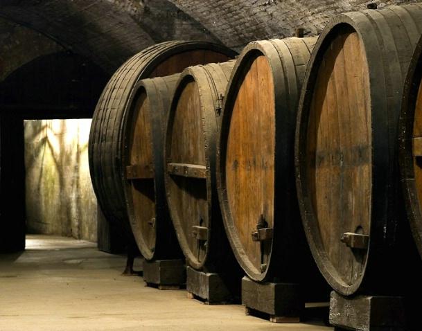 Wine Casks 2 America's Oldest Winery