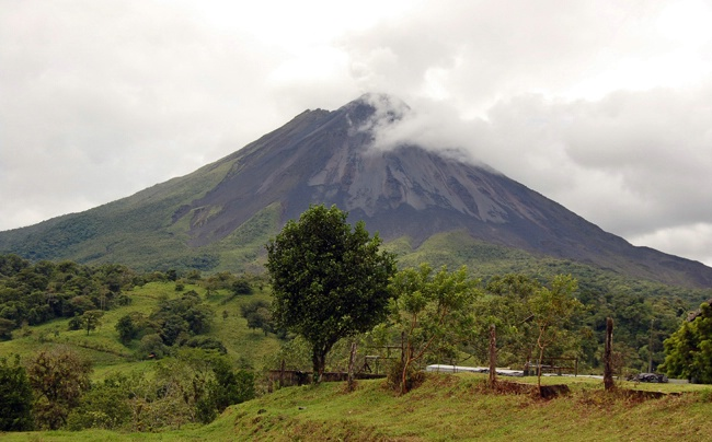 Another View of the Arenal Volcano