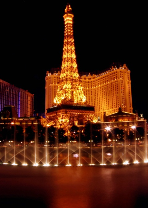 Fountain Show in Vegas
