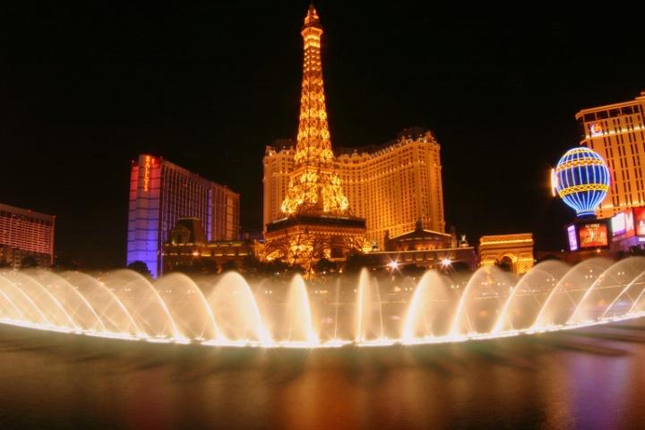Fountain Show in Vegas