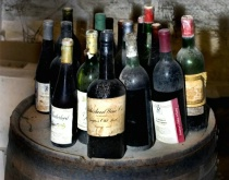 Old Wine Bottles, Brotherhood Winery