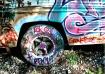 Graffiti Tire