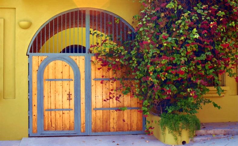 Doors.   Todos Santos, Mexico