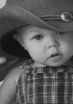 Jaden in Cowboy Hat