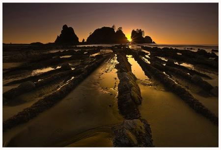 Shi Shi Beach Sunset