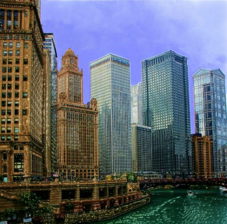 Chicago River at Michigan Ave