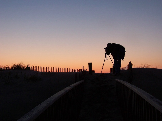 Capturing a surise...