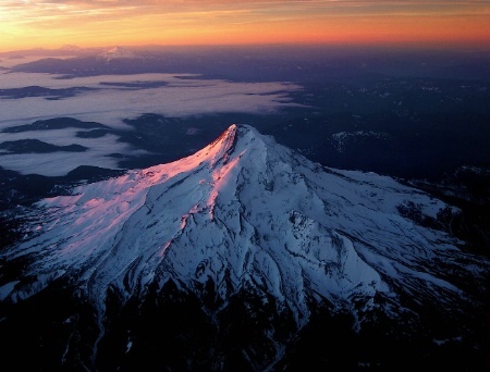 Dawn Over Mt. Hood