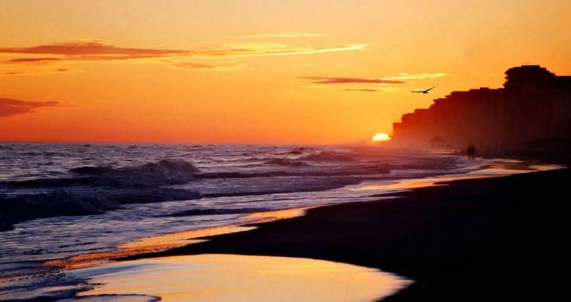 Sunset On The Gulf