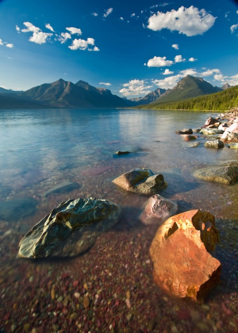 Lake McDonald Summer