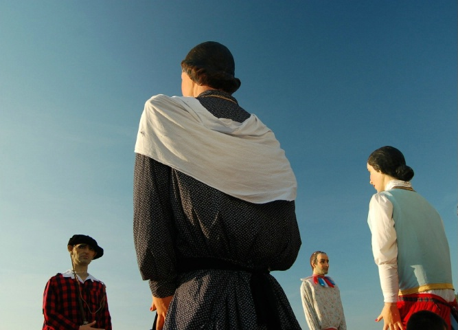 giants in Basque country