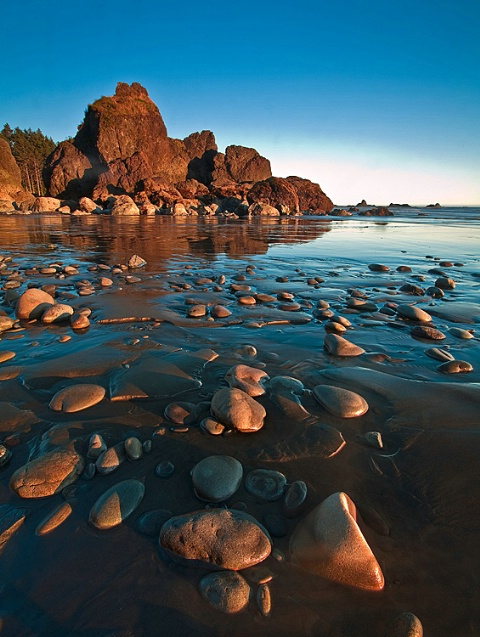 Ruby Beach Rocks