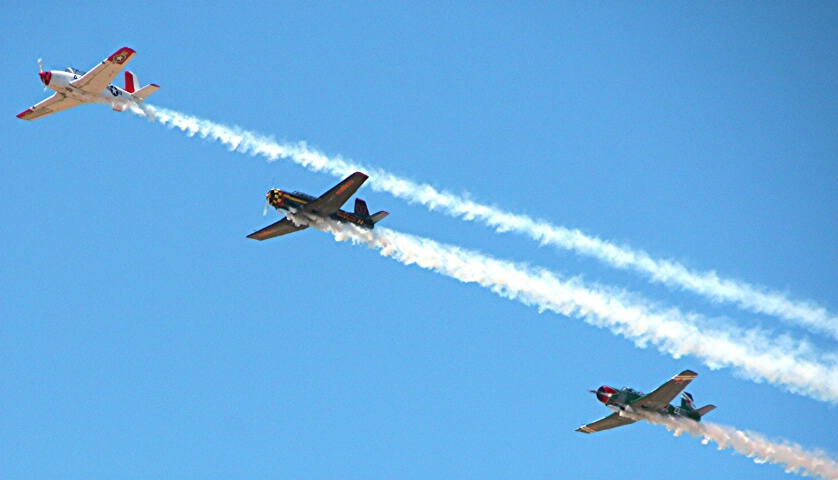 Flying Trio