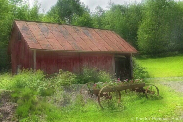 Mr. Brown's Barn - ID: 4531492 © Sandra Hardt