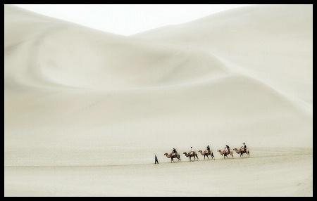 travessia do deserto