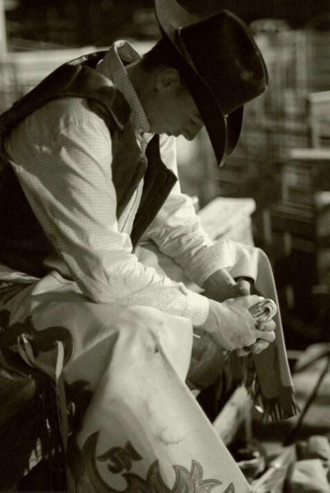 Cowboy Prayer - ID: 4542326 © Stanley Singer
