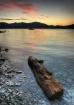 Old Log, Lake Mag...