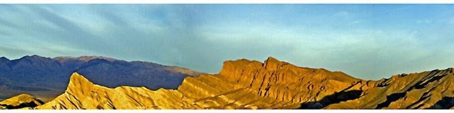 Zabriski Point Panoramic