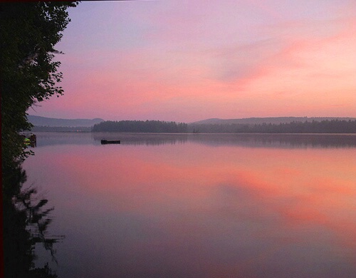 Sunrise to the causeway