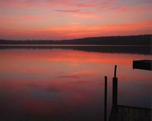 Sunrise from my dock