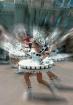 Blurred dancing