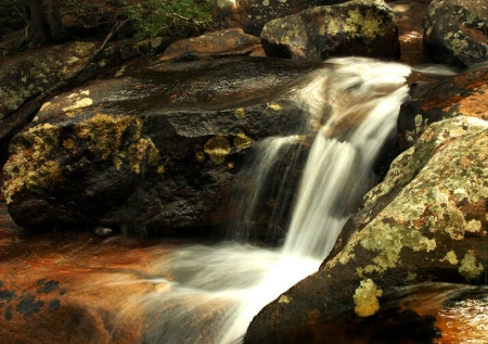 *Waterfall  Rocky Mt National Park Co*