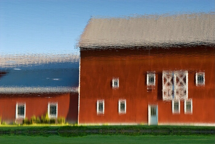 Barn Reflection (Inverted)