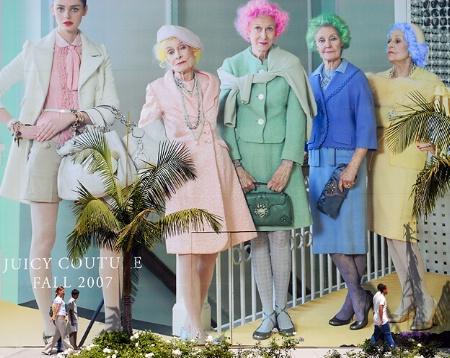 Fashionable Sidewalk