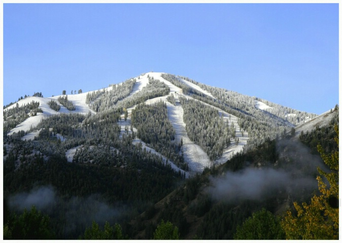First snow on Bald Mountain ~ Sun Valley 09/24/07