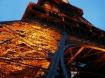 Golden Eiffel Tow...