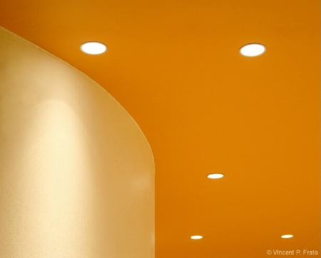 Ceiling with Lights