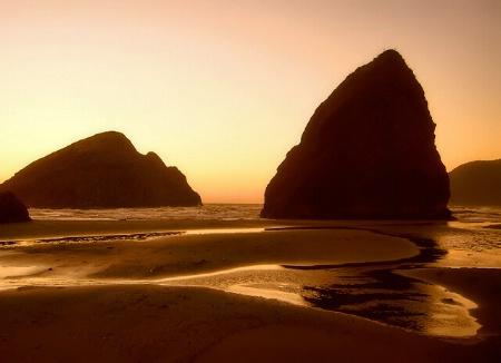 Gold Beach Sunset II
