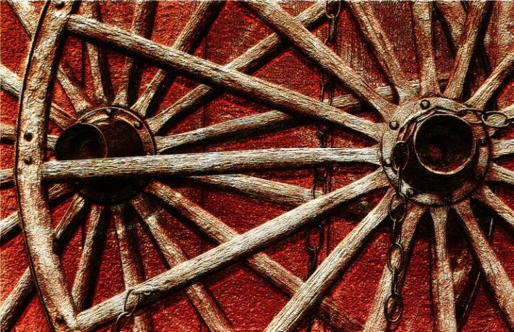 - Wagon Wheels -