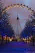 The London Eye at...