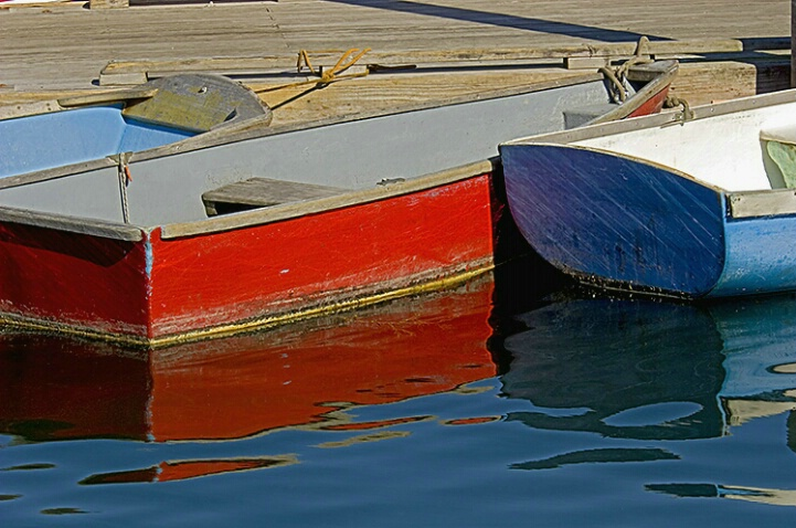Colorful Dinghies - ID: 4878671 © Averie C. Giles