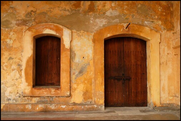 Old Fort Door