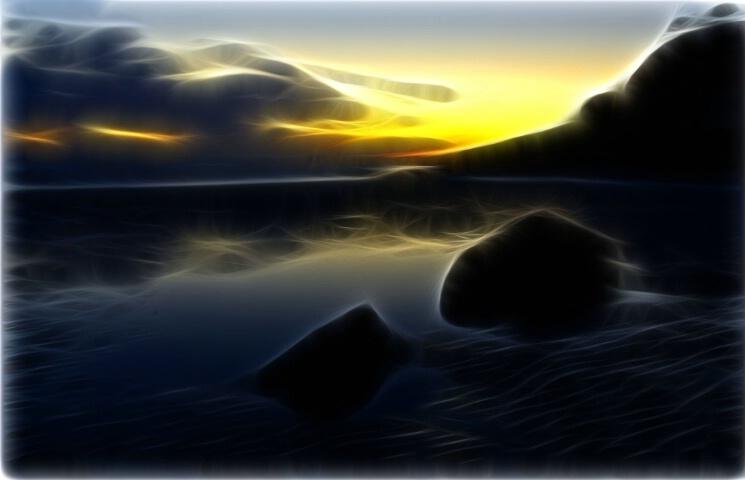 Dreamland sunset