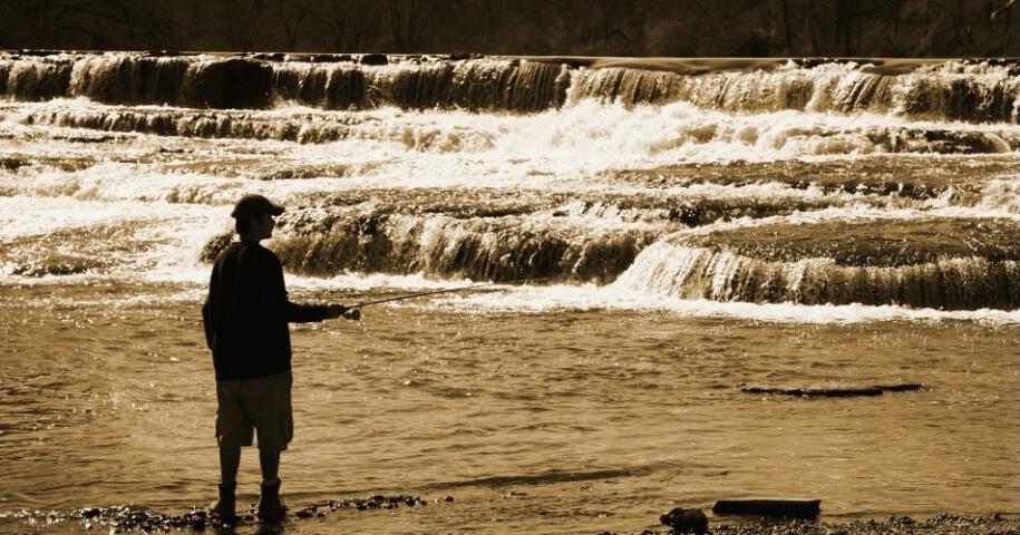 Fishin the Falls