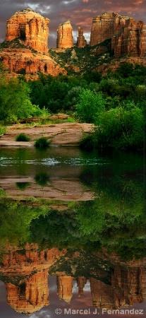 Sedona Reflection