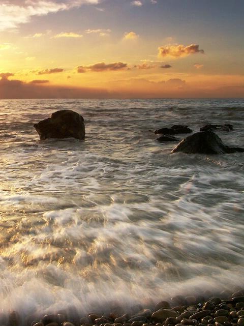 sunset flows