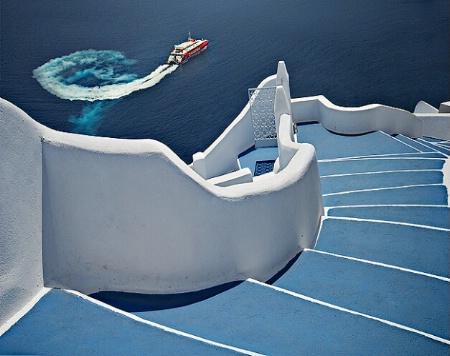 Into the deep blue sea