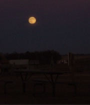 Moon over the Homestead
