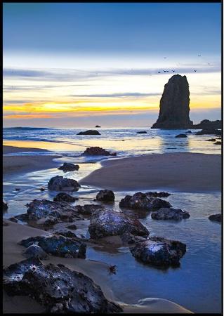 The Last Light....... Cannon Beach, Oregon