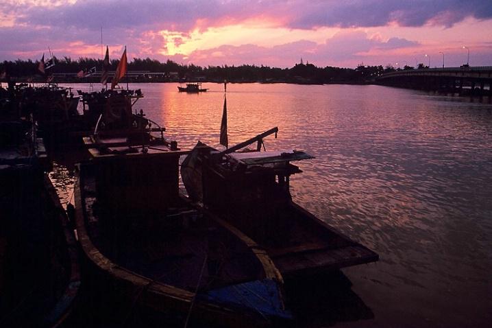 Sunrise at Kuala Besut Pier