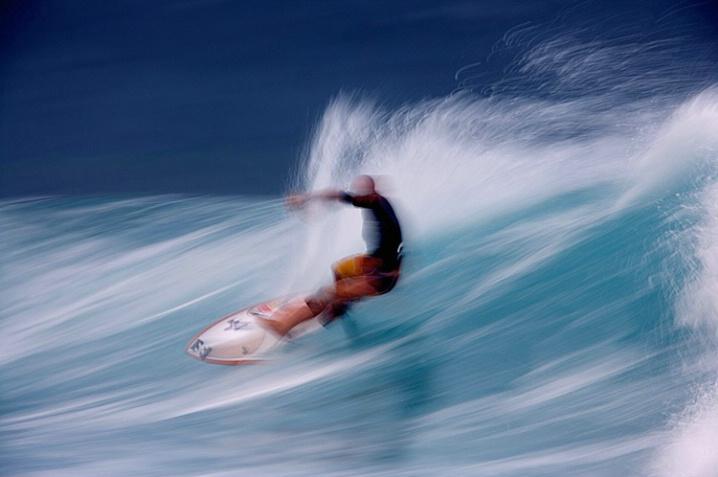 Morning Surf - Hawaiian Style