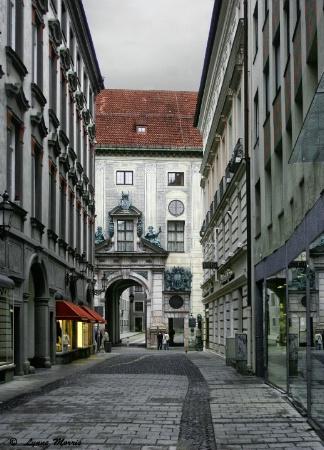 Munich Back Streets
