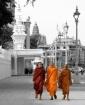 Monks in Phnom Ph...