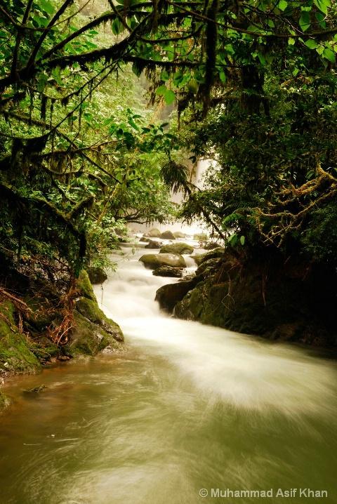 Costa Rica Cataratas Waterfall
