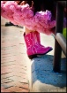 Her Pink Boots